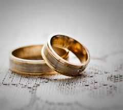 Wedding Rings, there is no end. They are round.